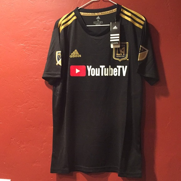 new products 272a4 ae0a2 LAFC Los Angeles Jersey NWT